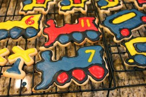 Liam's Second Birthday Cookies